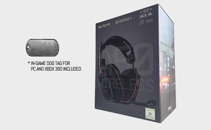 ASTRO A50 Headset Battlefield Edition