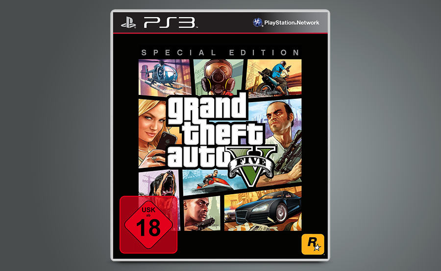 Grand Theft Auto V - PS3 - Special Edition