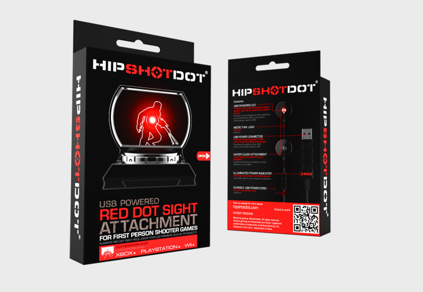 Hip Shot Dot – Red Dot Sight Attachment