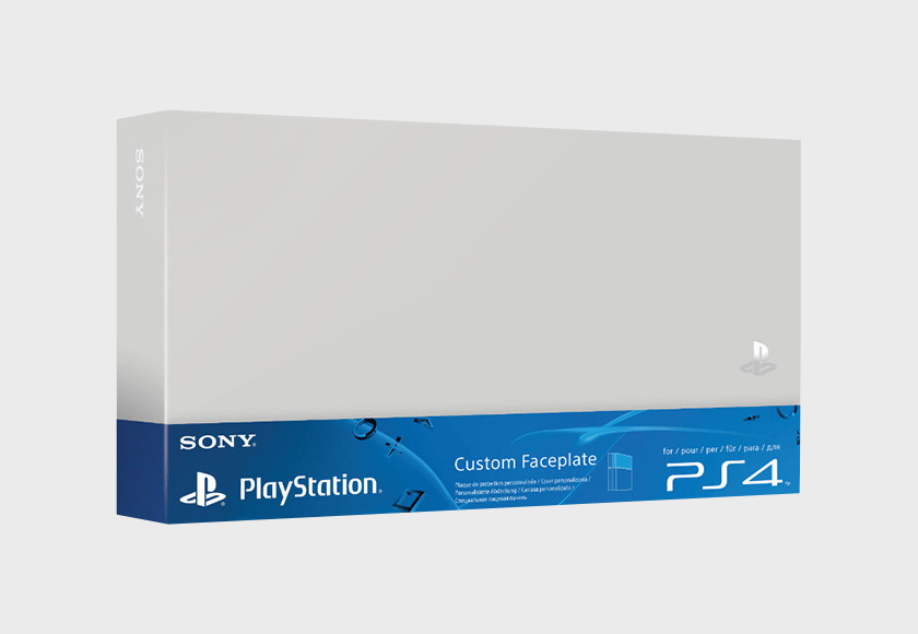 PlayStation 4 HDD Cover - Silver