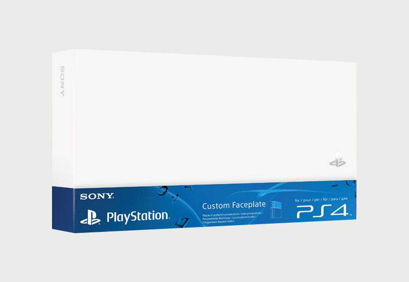 PlayStation 4 HDD Cover - White