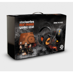 SteelSeries Heat Orange Bundle Box