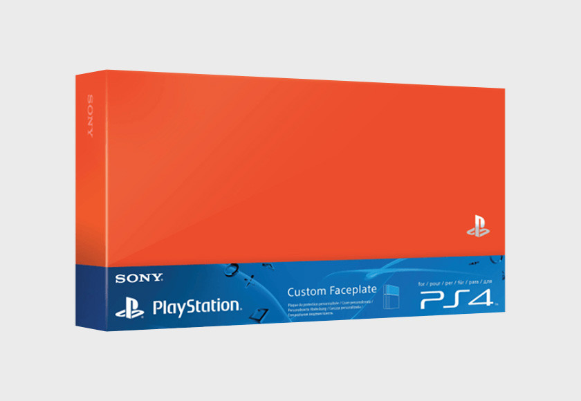 PlayStation 4 HDD Cover - Neon Orange