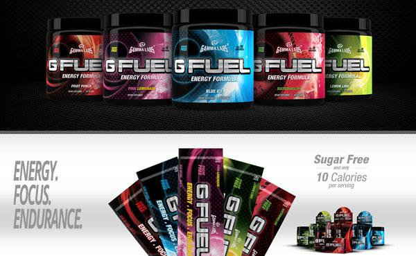 G Fuel - gesunder Energy Drink für Gamer