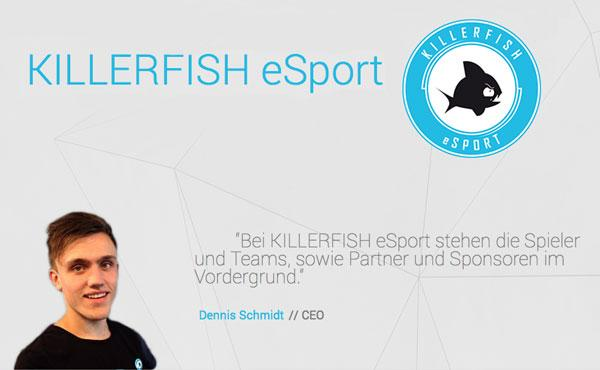 KILLERFISH eSport sponsored by RXG