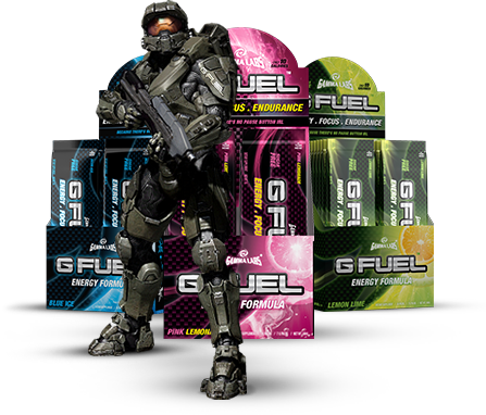 G Fuel – Energy Drink für Gamer