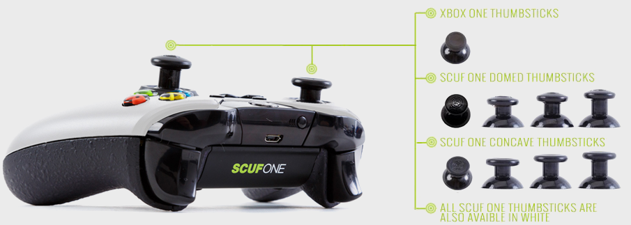 SCUF ONE Controller Sticks